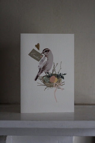 Elena Deshmukh Card, Easter Bird