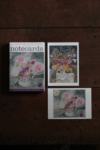 Art Angels Notecard wallet - Dahlias/ Late Summer