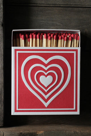 Luxury Matches  - Concentric Heart