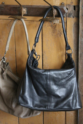 Thea leather  tote bag