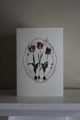 Elena Deshmukh Card, Dutch Tulips