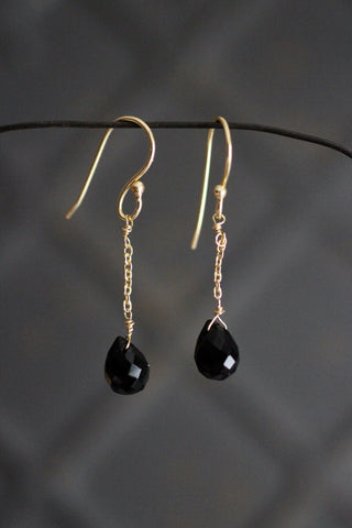 Bego Black Onyx Earrings