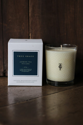 True Grace Jasmine Tea Candle - No 6