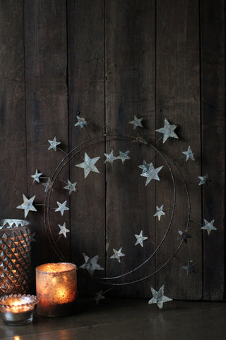 Star Metal Wreath