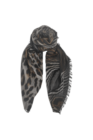 ELECTRA double-sided scarf