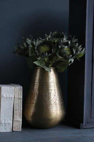 Decorative Brass Pot