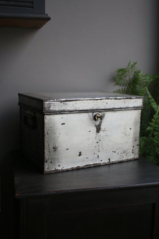 Antique Deed Box (with keys)