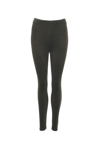 NOVA velour legging Army