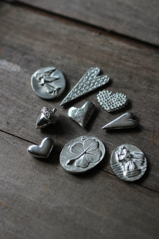 Single Pewter Charms