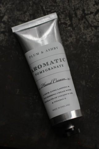 Plum & Ashby Pomegranate Hand Cream