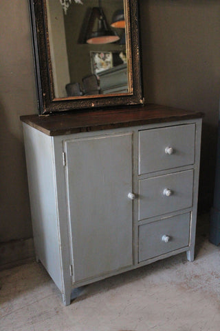 French Cupboard with Drawers/Door