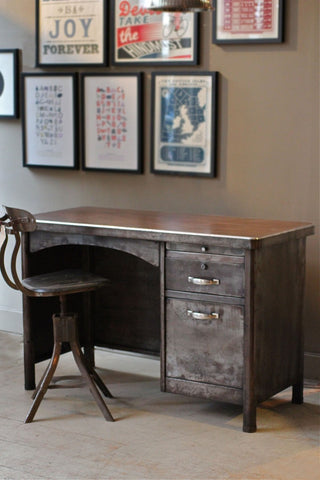 Original Reconditioned Steel desk