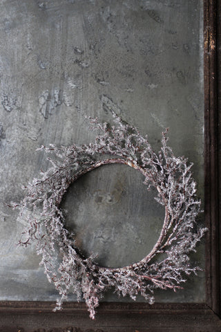 Frosted Twig Wreath