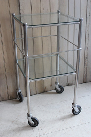 SQUARE MEDICAL TROLLEY