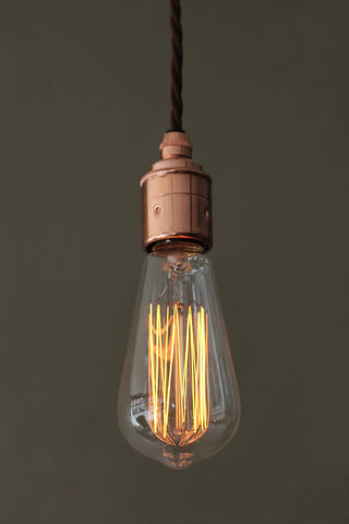 Retro Squirrel Cage Bulb