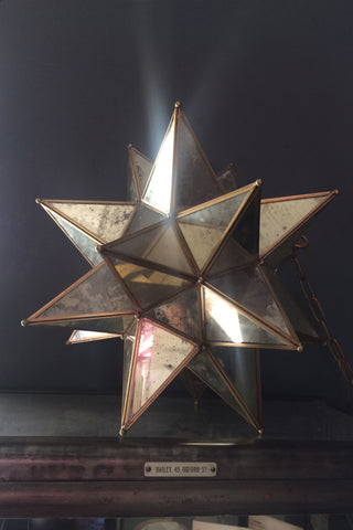 Antique Brass Star light