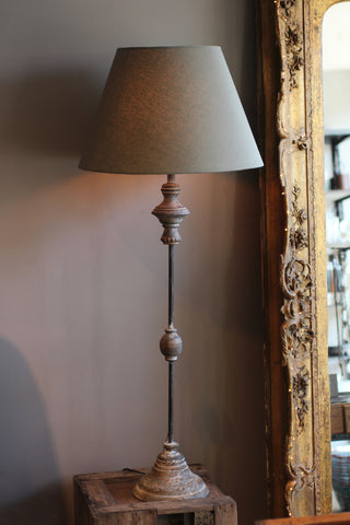 Tall Table Lamp & Shade