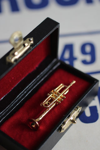 Trumpet Pin Badge Brooch