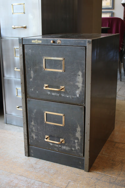 Two Drawer Roneo Filing Cabinet Discoverattic