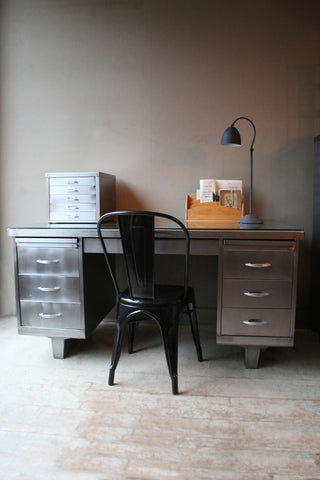 Vintage Steel Industrial desk