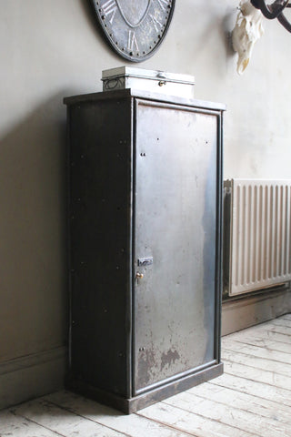 Vintage Steel Engineer's Cabinet