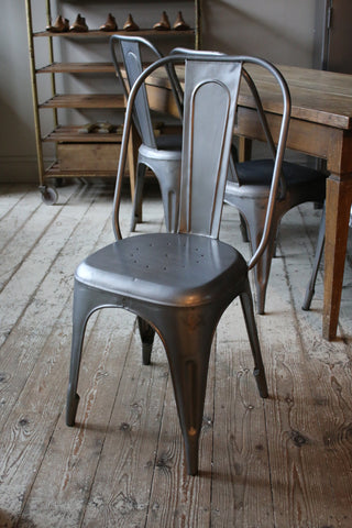 Steel Cafe Chair