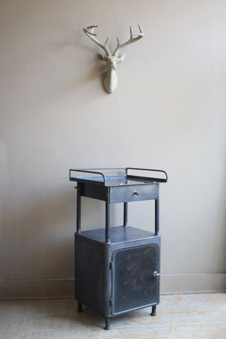 Vintage Steel Night Stand
