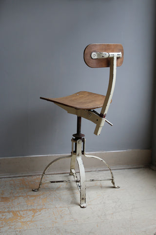 Vintage Factory Chair