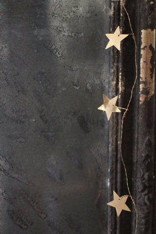Walther & Co Brass Star Garland