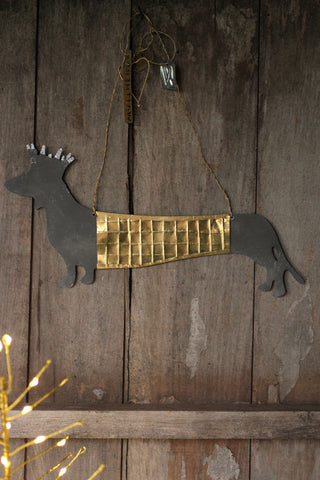 Walther & Co Dachshund Decoration
