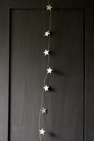 Walther & Co Glitter Star Garland