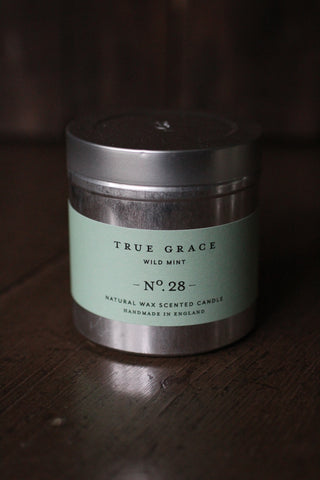 True Grace Wild Mint Tin Candle - No 28