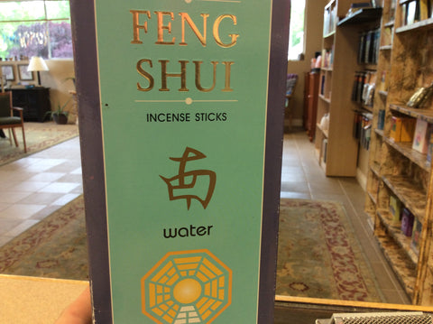 Water Feng Shui Incence Sticks