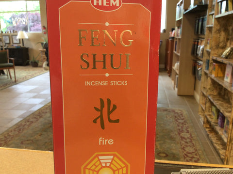 Fire Feng Shui Incence Sticks