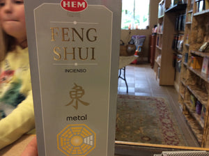 Metal Feng Shui Incence Sticks