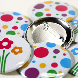 large custom buttons