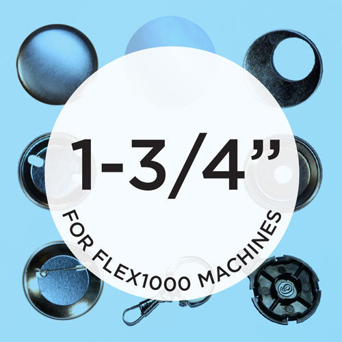 flex1000 1.75 inch button supplies