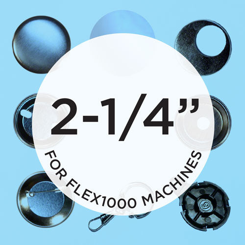 flex1000 2.25 inch button supplies