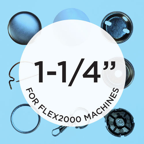 flex2000 1.25 inch button parts