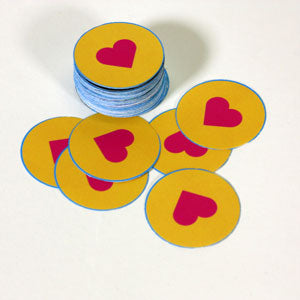 die cut art for easy button making