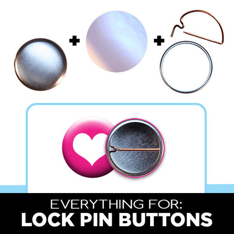 1 inch lock pin button parts