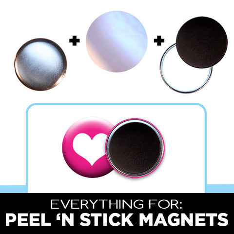 "1 inch magnet parts for 1"" button maker"