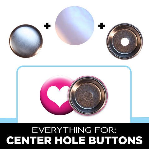 1-1/4 inch center hole button parts