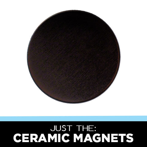 1-1/4 inch ceramic magnets for button machines