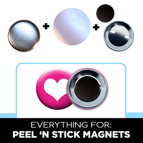 1.75 inch peel n stick magnet parts