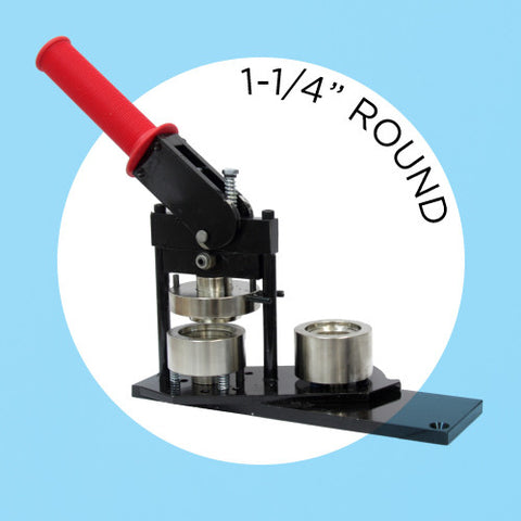"1-1/4"" Standard Button Maker Machines and Start Up Kits"