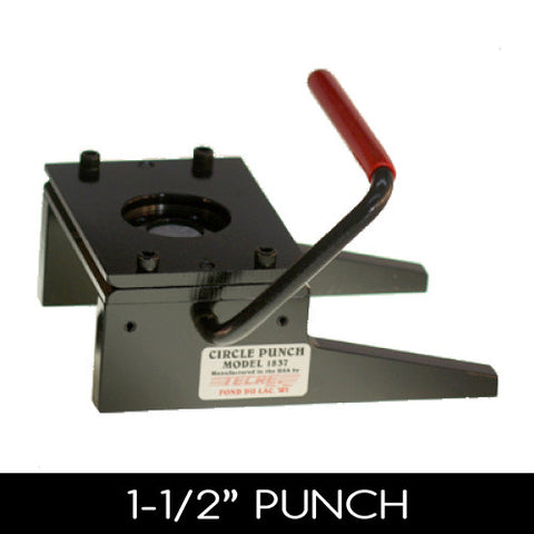 1-1/2 inch button graphic paper punch cutter