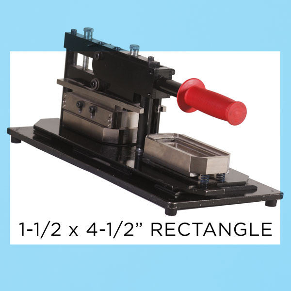 "1.5 x 4.5"" Rectangle Button Press and Kit"