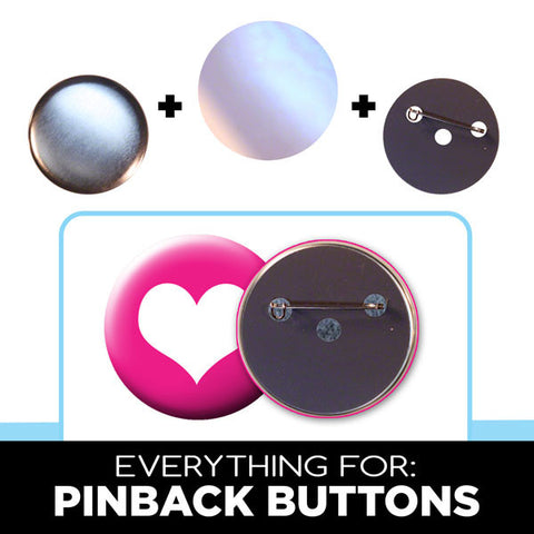 2 inch pinback buttons