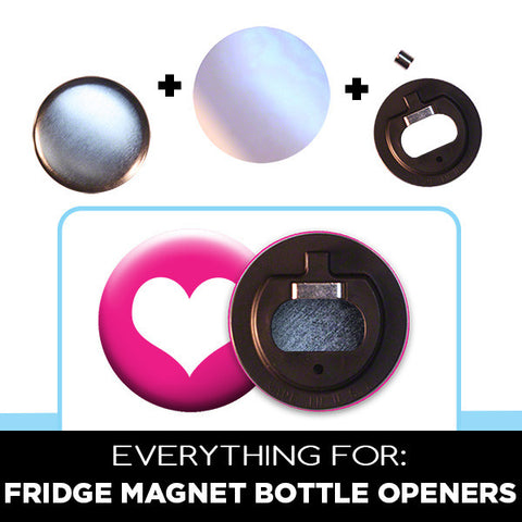 "2.25"" supplies for rare earth fridge magnet bottle openers"